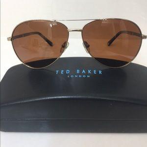 Ted Baker Men's Polarized Aviators (orig. $124)